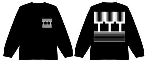 Stripe block long-sleeve T