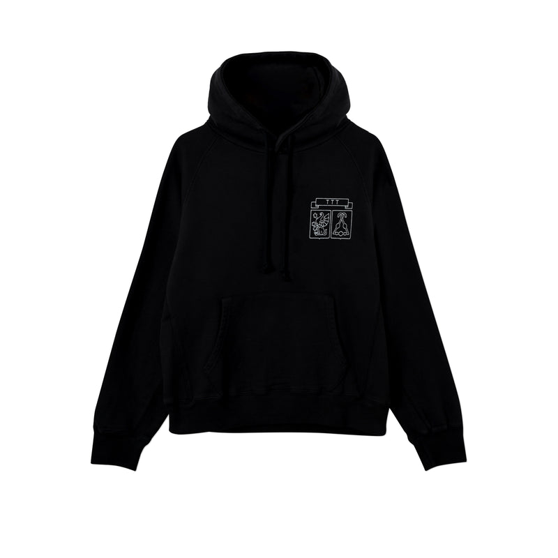 SHIELD HOOD  BLACK