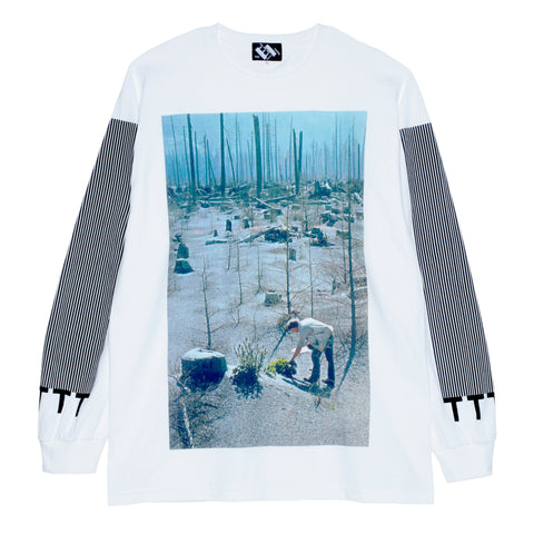 Searching For A Pulse Of Life In The Mutilated Forest long-sleeve T-shirt.