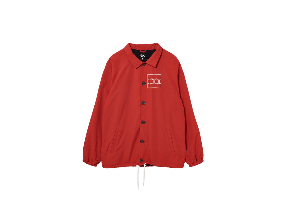 COACH JACKET RED