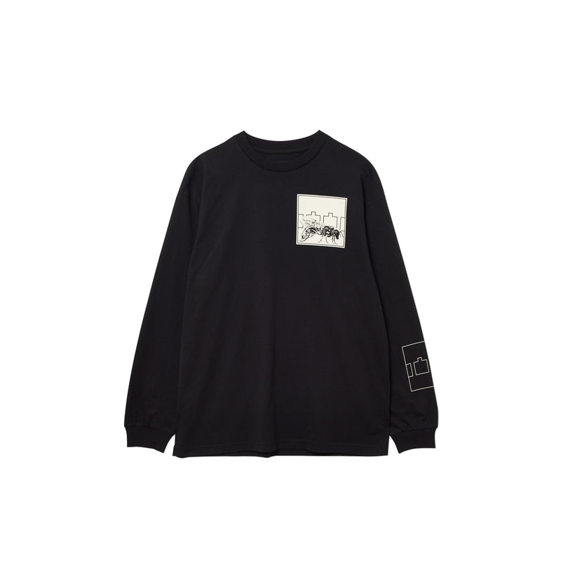 FLY LONGSLEEVE T-SHIRT BLACK