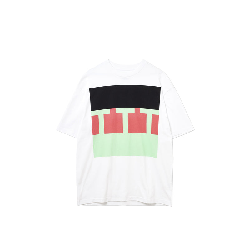 TTT BLOCK T-SHIRT WHITE