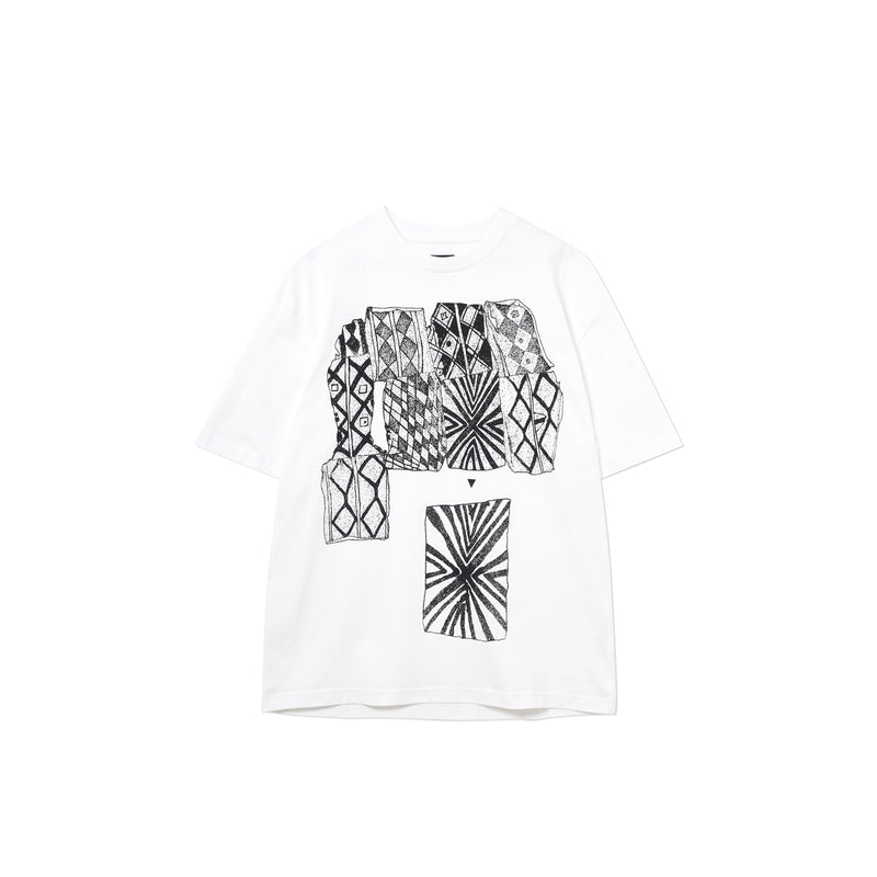 PATTERNS CONNECT T-SHIRT WHITE