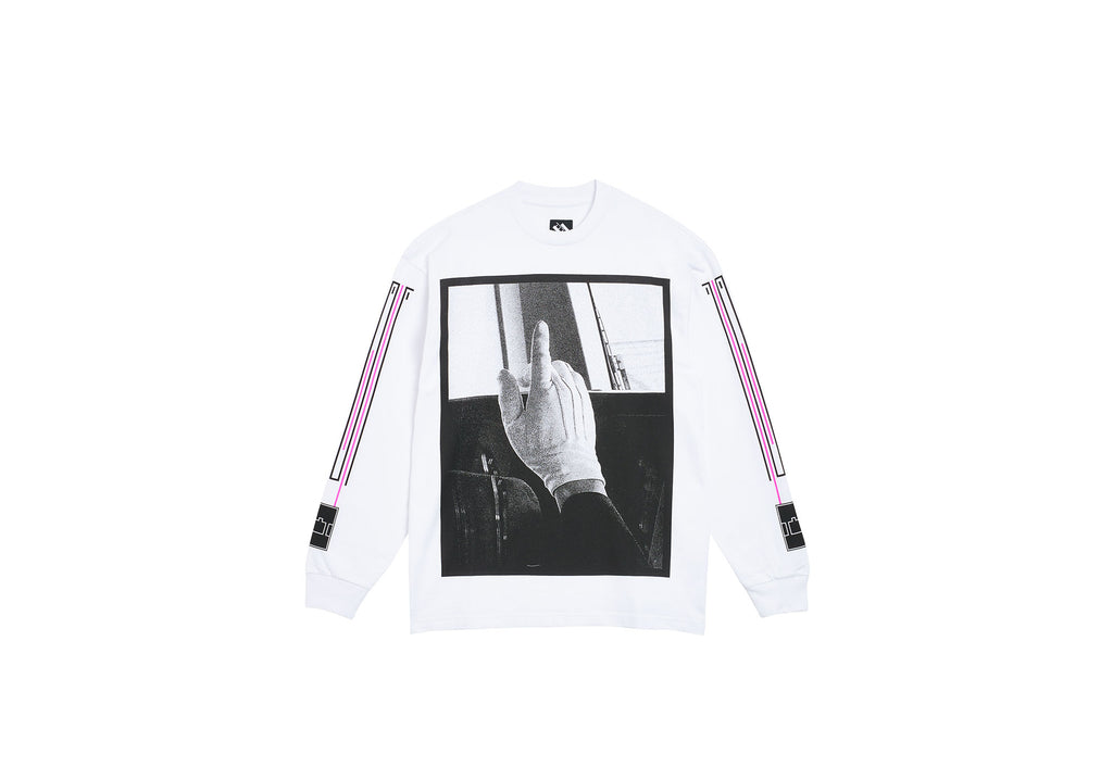 TRAIN LONGSLEEVE WHITE