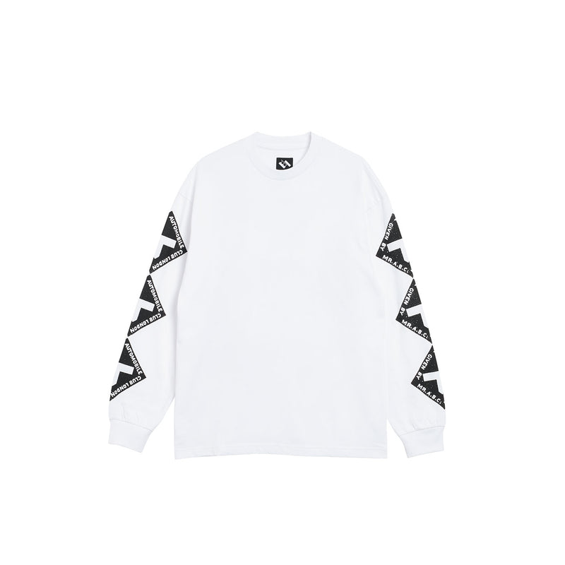 AUTOMOBILE CLUB LONGSLEEVE WHITE