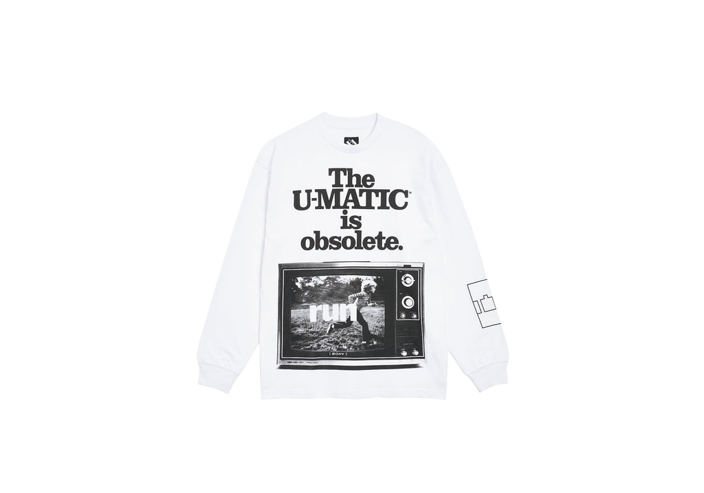 U-MATIC LONGSLEEVE WHITE