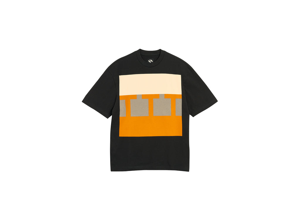 BLOCK T-SHIRT BLACK
