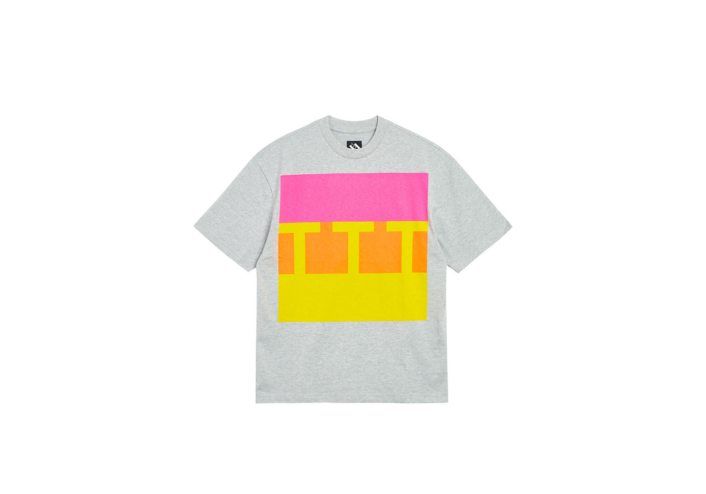 BLOCK T-SHIRT GREY
