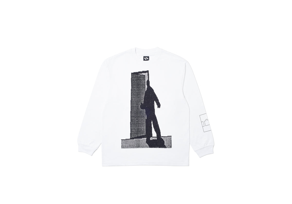 FICTIONAL LONGSLEEVE WHITE