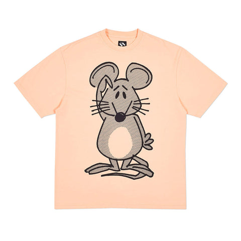 MOUSE T-SHIRT PALE ORANGE
