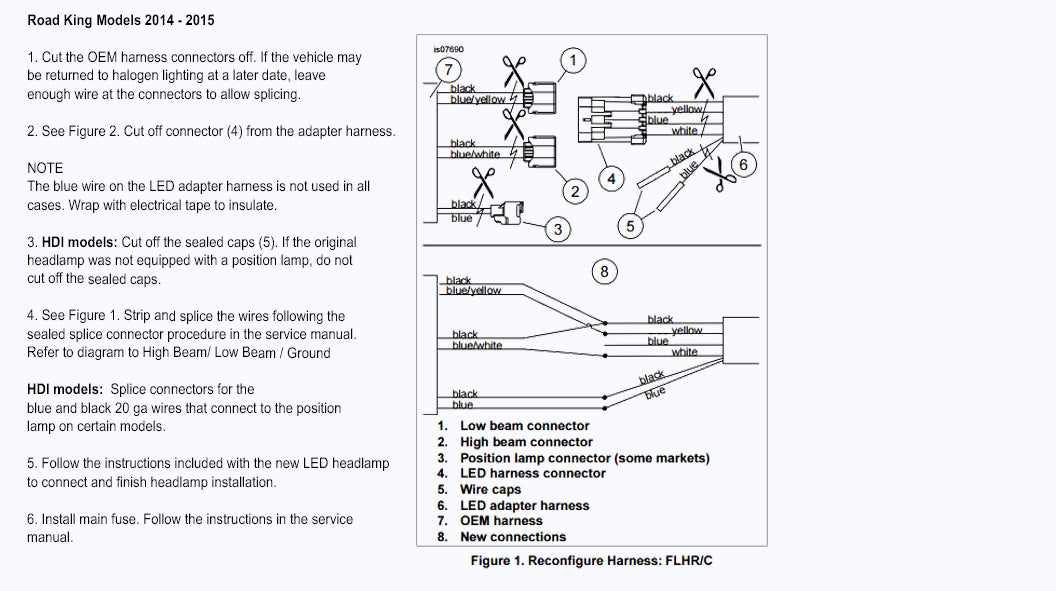 Wiring Diagram For 2014 Harley Davidson Motorcycles With Flat Four Pin Connection: Wiring Diagram Harley Davidson Road King At Executivepassage.co