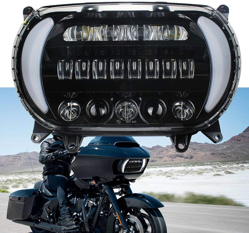 Eagle Lights LED Projection Headlight for Harley Davidson 2015 or Newer Road Glide*
