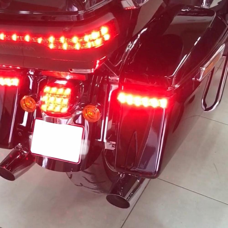 Eagle Lights Saddle-Lights™ Saddle Bag LED Lights for 2014 to Current Harley Davidson Touring Models