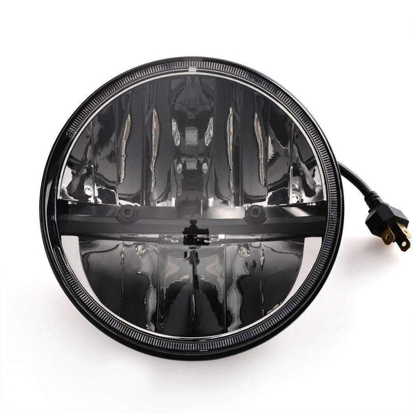 "7"" LED Headlights - Eagle Lights 7"" Complex Reflector Phase 7 LED Headlight For Harley Davidson"