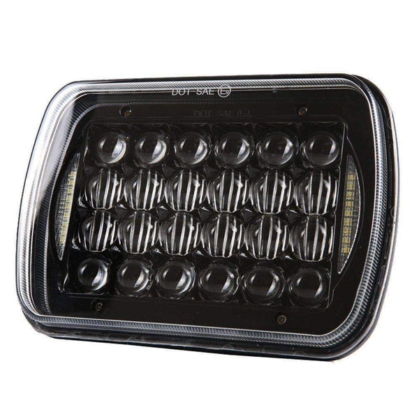 Eagle Lights 5736B-2 Multi LED 5 x 7 / 6 x 7 Projection Headlight with DRL (H6054 H5054 H6054LL 69822 6052 6053 H6014 H6052)