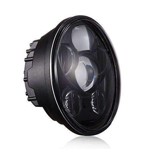 "7"" LED Headlights - Eagle Lights 7"" Round Projection LED Headlight - Generation III - Black"
