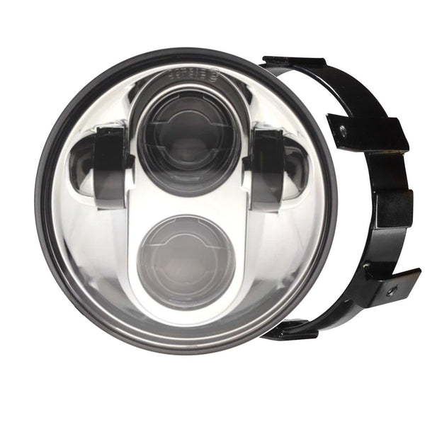 Eagle Lights Generation II LED Headlight For Honda VTX 1300 and 1800 F- MODEL ONLY- Includes VTX Bracket and Hardware
