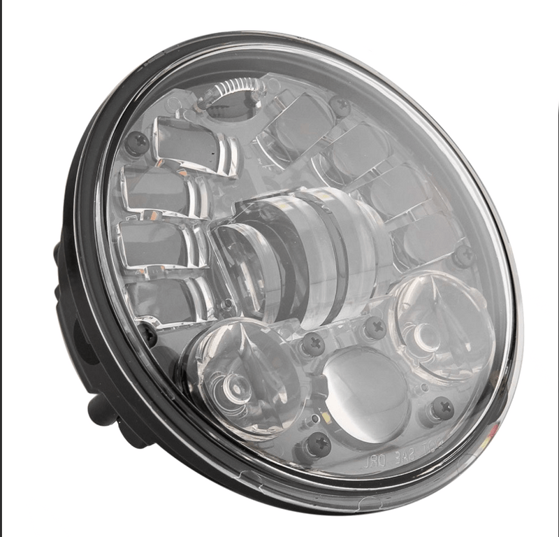 "Eagle Lights 5 3/4"" LED Projector Headlight with Integrated Turn Signals for Harley Davidson 5.75'' LED Projection Head Lamp"