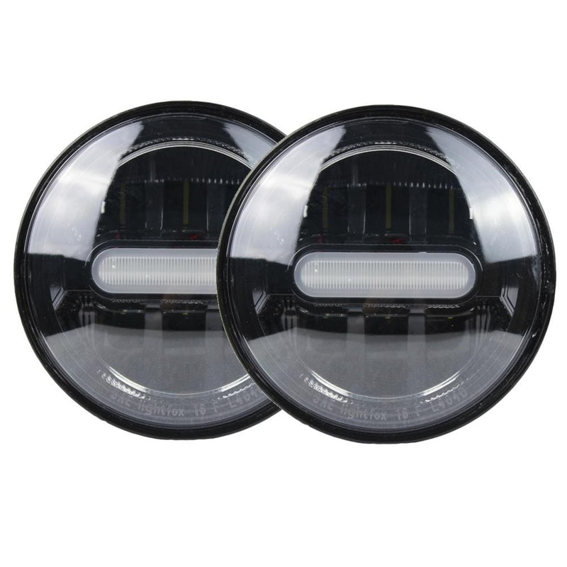 "4.5"" LED Passing Lights - Eagle Lights Infinity Beam 4.5"" Passing / Auxiliary / Spot Lights"