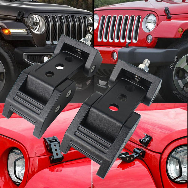 Eagle Lights Hood Latch Kit for Jeep Wrangler JK (2007 - 2018)