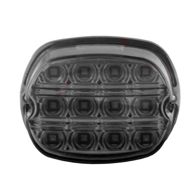 LED Tail Lights - Eagle Lights 8900TL4-R Rear Layback Taillamp Replacement For Harley Davidson