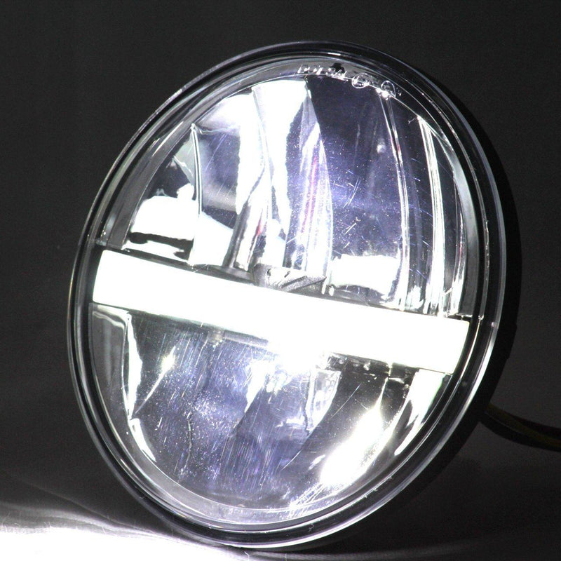 "5 ¾"" Halo & DRL LED Headlights - Eagle Lights 5 3/4"" Complex Reflector LED Headlight"