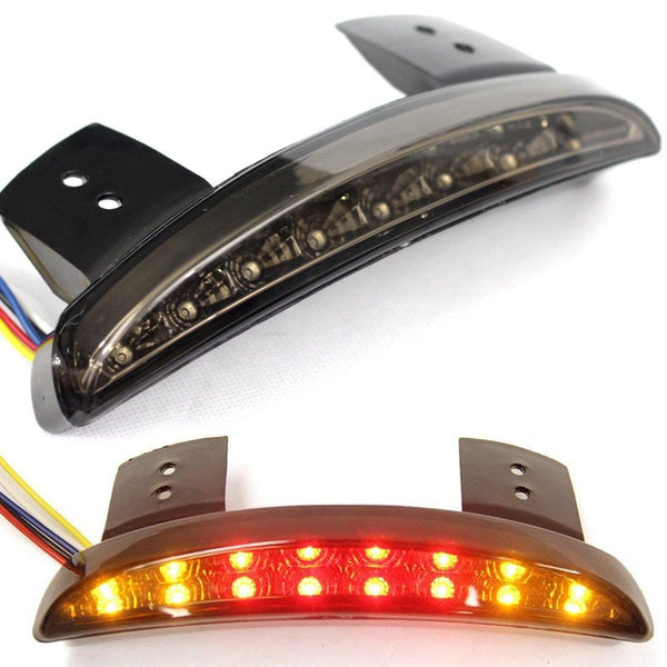 LED Tail Lights - Eagle Lights LED Taillight Conversion / Upgrade Kit For Harley Sportsters W/ Integrated Turn Signal