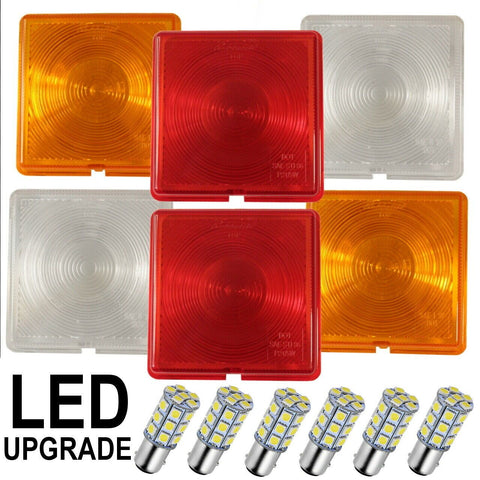 Rubbolite - Eagle Lights Genuine Rubbolite 8006, 8007, And 8008 Triple Pack - Includes LED Bulbs