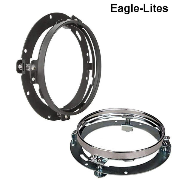 "Eagle Lights 8700 Adapter Ring for 7"" LED Headlights"