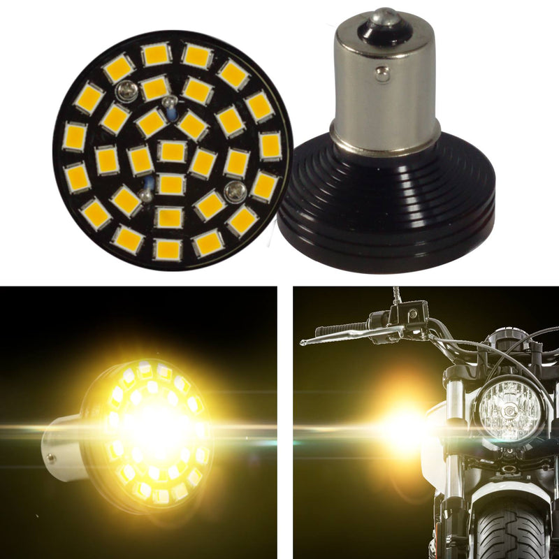 Specialty LED Turn Signals - Indian Scout SUNBURST LED Turn Signals - Pair