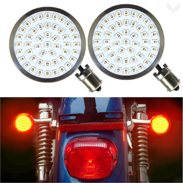 "2"" LED Rear Turn Signals - Eagle Lights Generation II LED Premium Rear Turn Signals - 1156 Base"