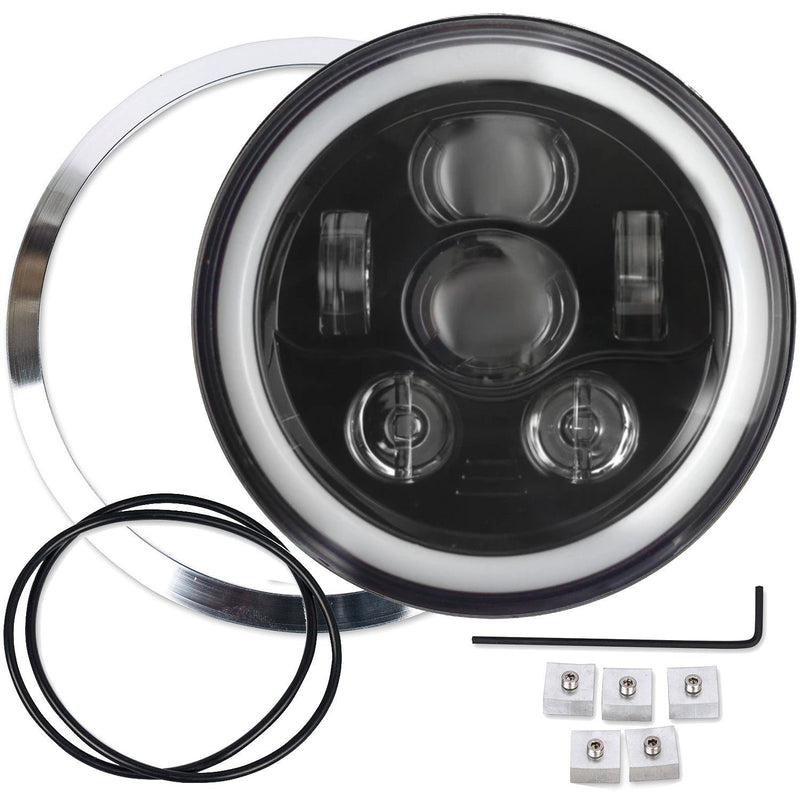 "Eagle Lights 7"" LED Headlight Kit for BMW R100R, R100T, R1150R, R1200C and R850 Models"