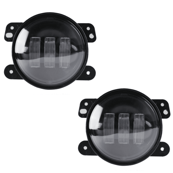 Jeep LED Lighting - Eagle Lights 8700JP LED Fog Lights With Housing For Jeep Wrangler