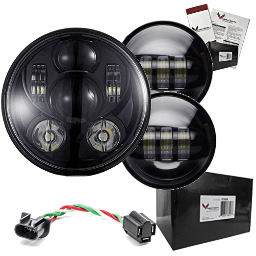 Heritage Springer LED Kit - Eagle Lights 8900PK Heritage Springer Headlight And Passing Light Kit