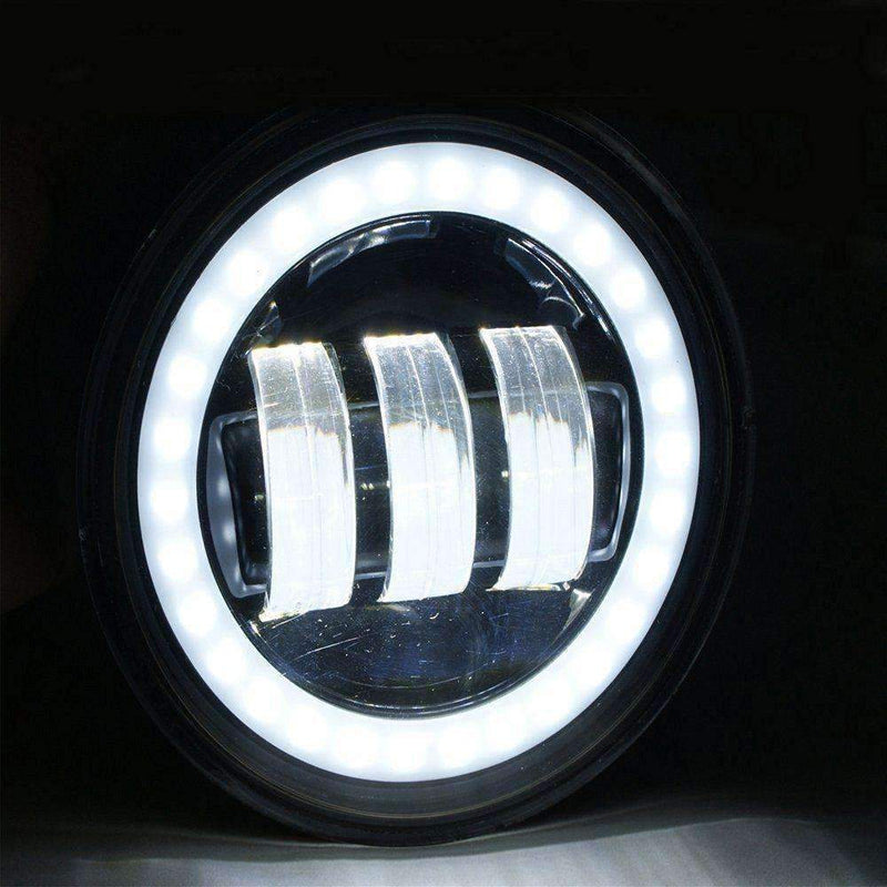 "7"" Halo LED Headlight And Halo Passing Lights - Eagle Lights 9100B Halo Headlight And Halo LED Passing Lights*"