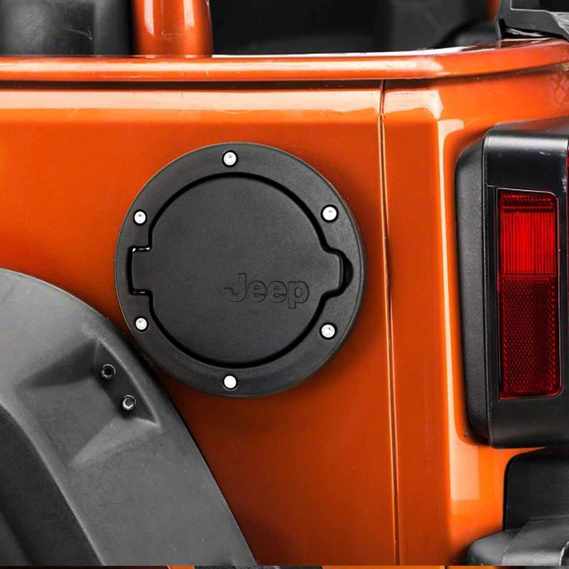 Jeep Accessories - Eagle Lights Jeep Fuel Door - Fits 07 - 15 Jeep Wrangler (2 + 4 Door)