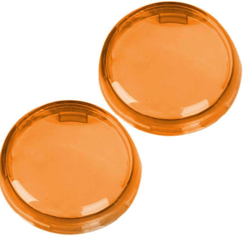 "LED Turn Signal Accessories - Eagle Lights Replacement Lenses For 2"" Bullet Style Turn Signals Clear / Smoked / Amber"