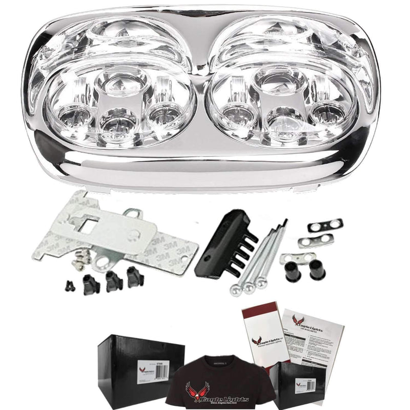 Road Glide LED Headlights - Eagle Lights Road Glide 1998 - 2013 LED LED Projection Headlight For Harley Davidson Road Glide*