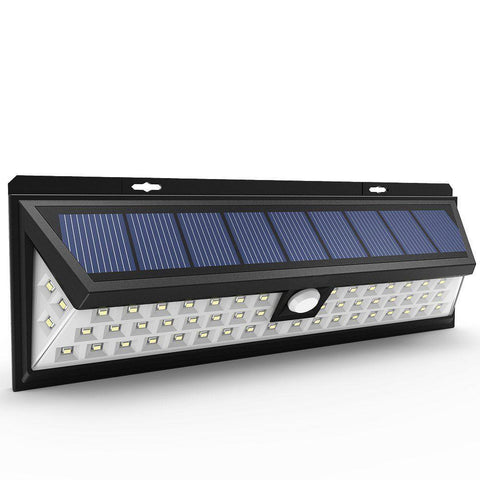 Outdoor Lighting - Eagle Lights 54-LED Solar Power Motion Sensor Outdoor Light - Security, Garden And Patio Lamp