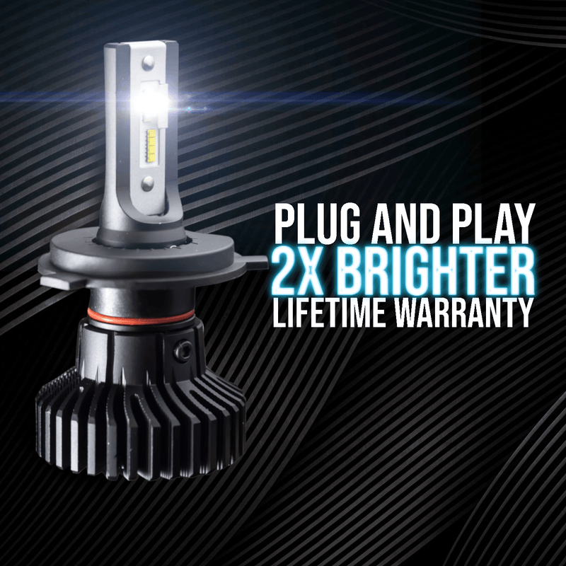 Eagle Lights Infinity Beam LED Headlight Bulb for Harley Davidson, Indian, Honda, Suzuki, Yamaha and Triumph Motorcycles