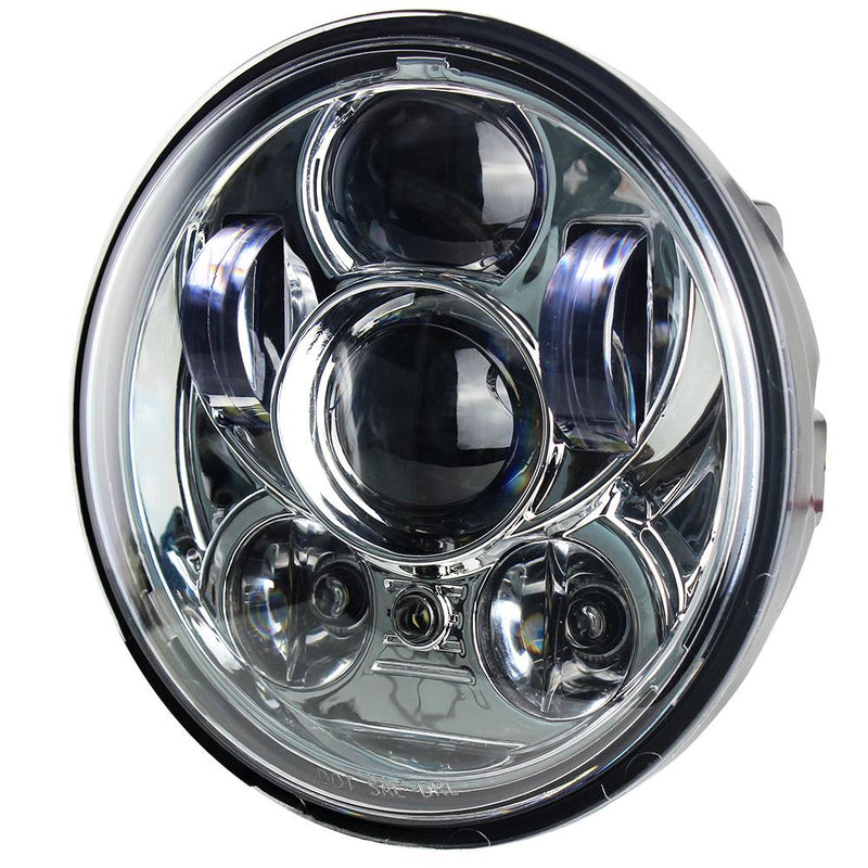 "Eagle Lights 5 3/4"" LED Headlight for Yamaha XVS650, Bolt, Raider, Road Star, Stryker Models"