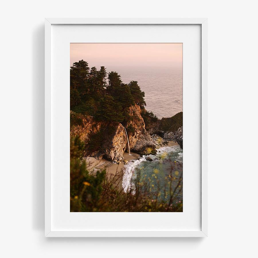 McWay Falls (Big Sur), Photography  by  McWay Falls (Big Sur) Tappan