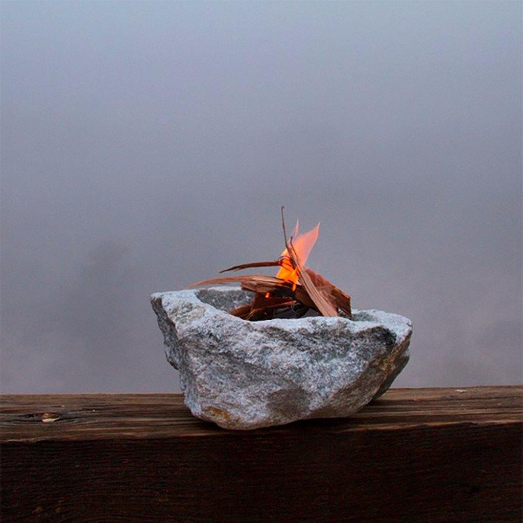 Soapstone Fire Bowl, Sculpture  by  Soapstone Fire Bowl Tappan