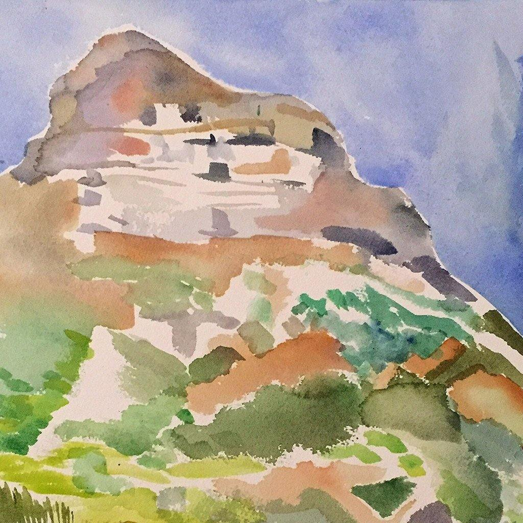 Lion's Head, Painting  by  Lion's Head Tappan