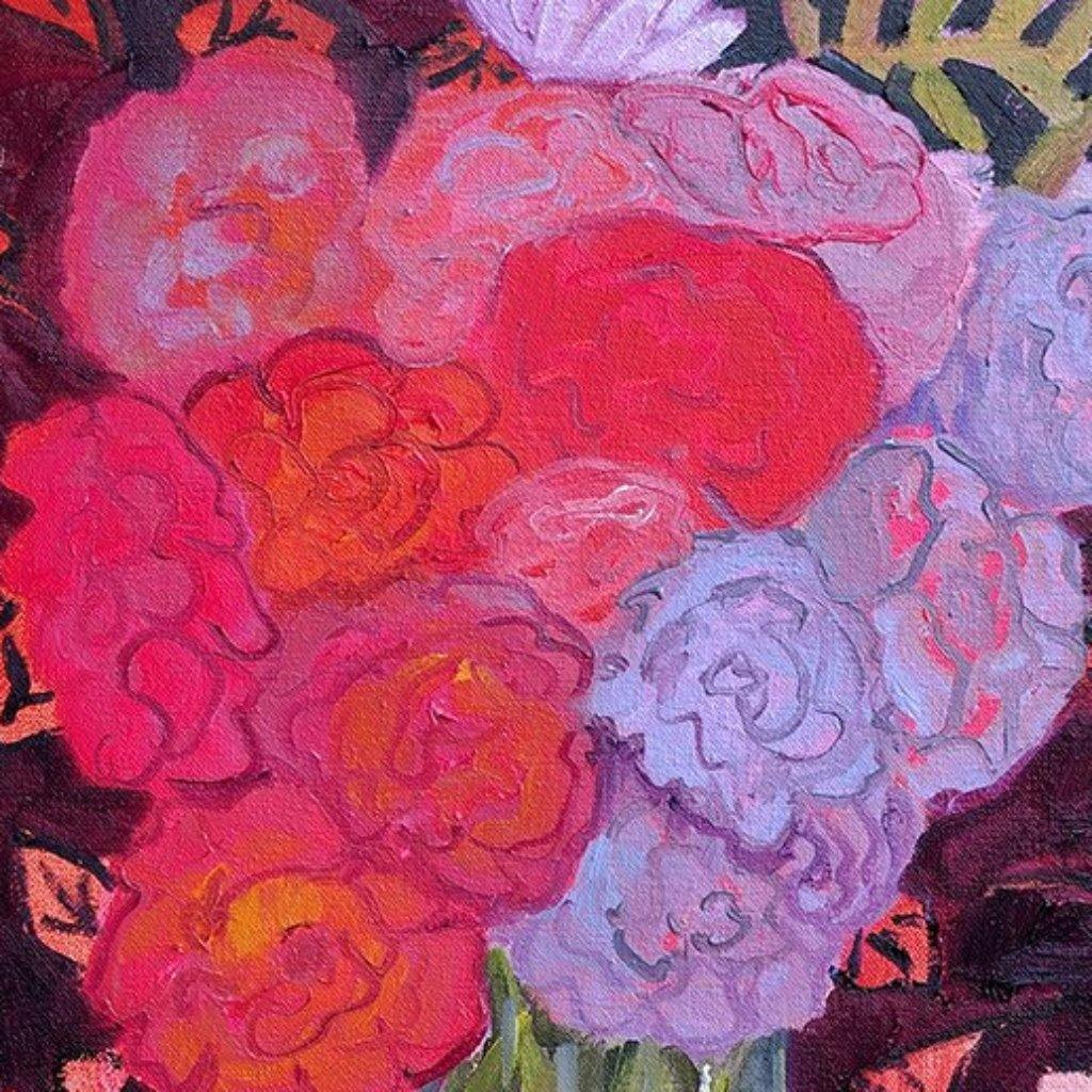 Summer Roses in an Autumn Palette