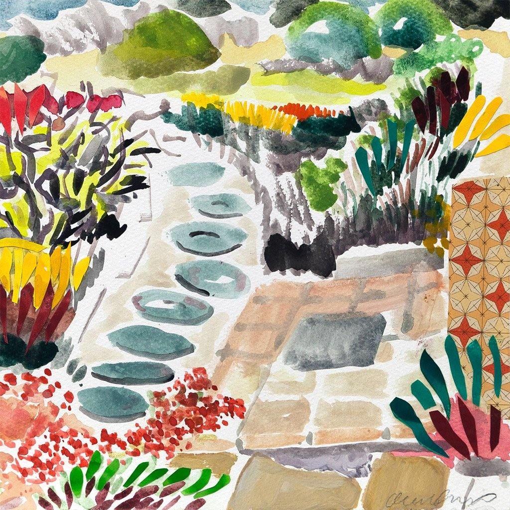 Fynbos Path, Painting  by  Fynbos Path Tappan
