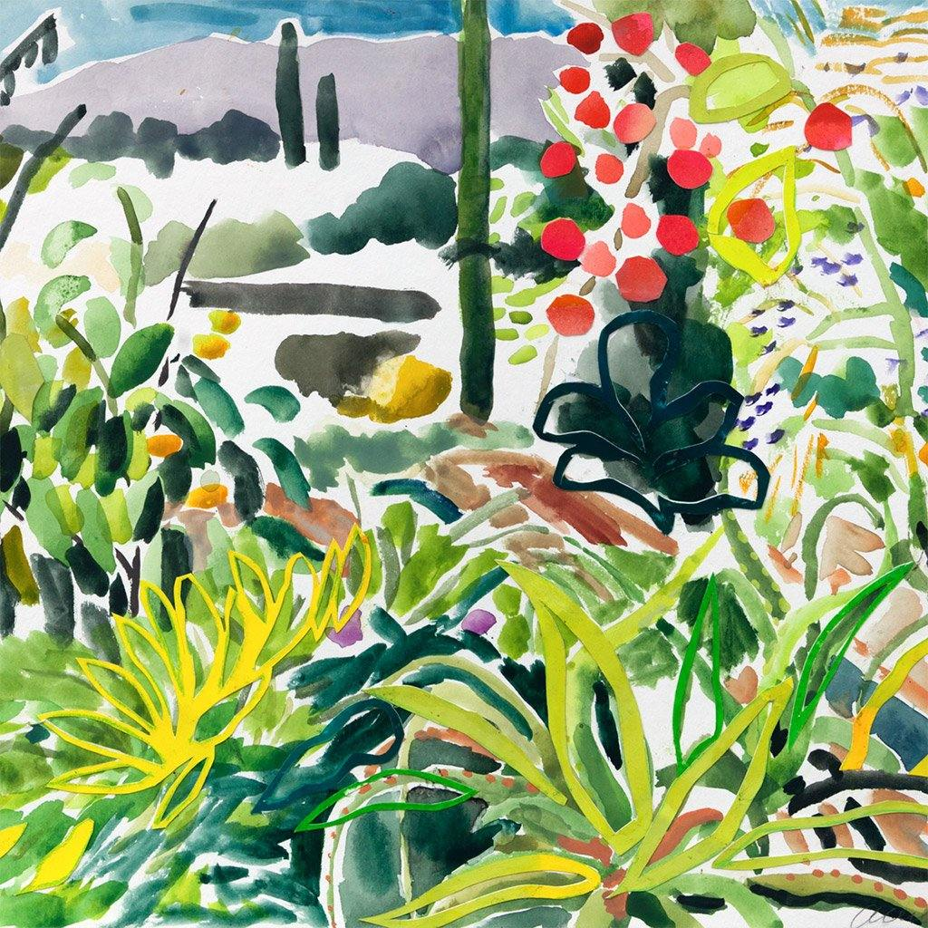 McGregor Garden, Painting  by  McGregor Garden Tappan