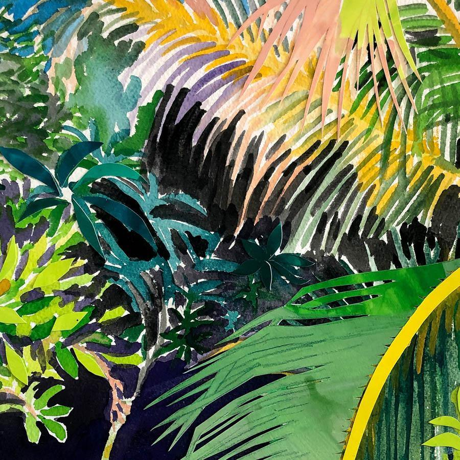 Palms, Original Work on Paper  by  Palms Tappan