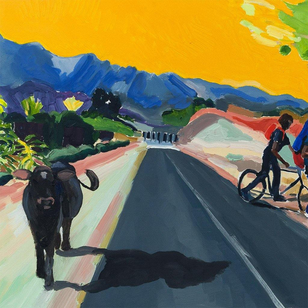 Roadside Convo, Painting  by  Roadside Convo Tappan