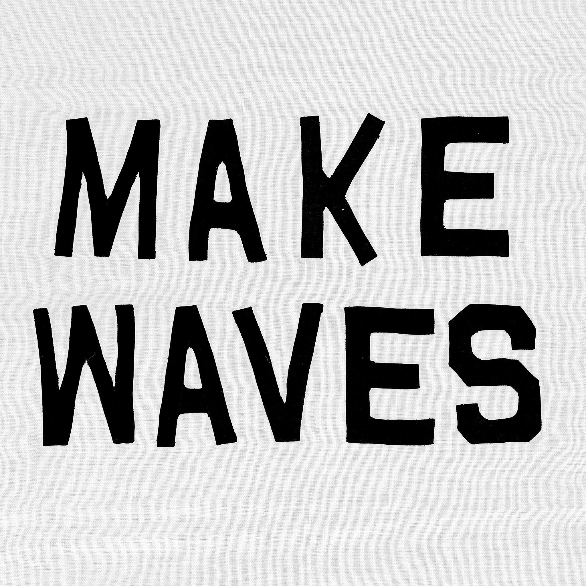 Make Waves, Textile  by  Make Waves Tappan